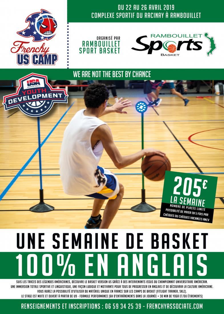 Stage Basket Paques 2019 / Frenchy US CAMP