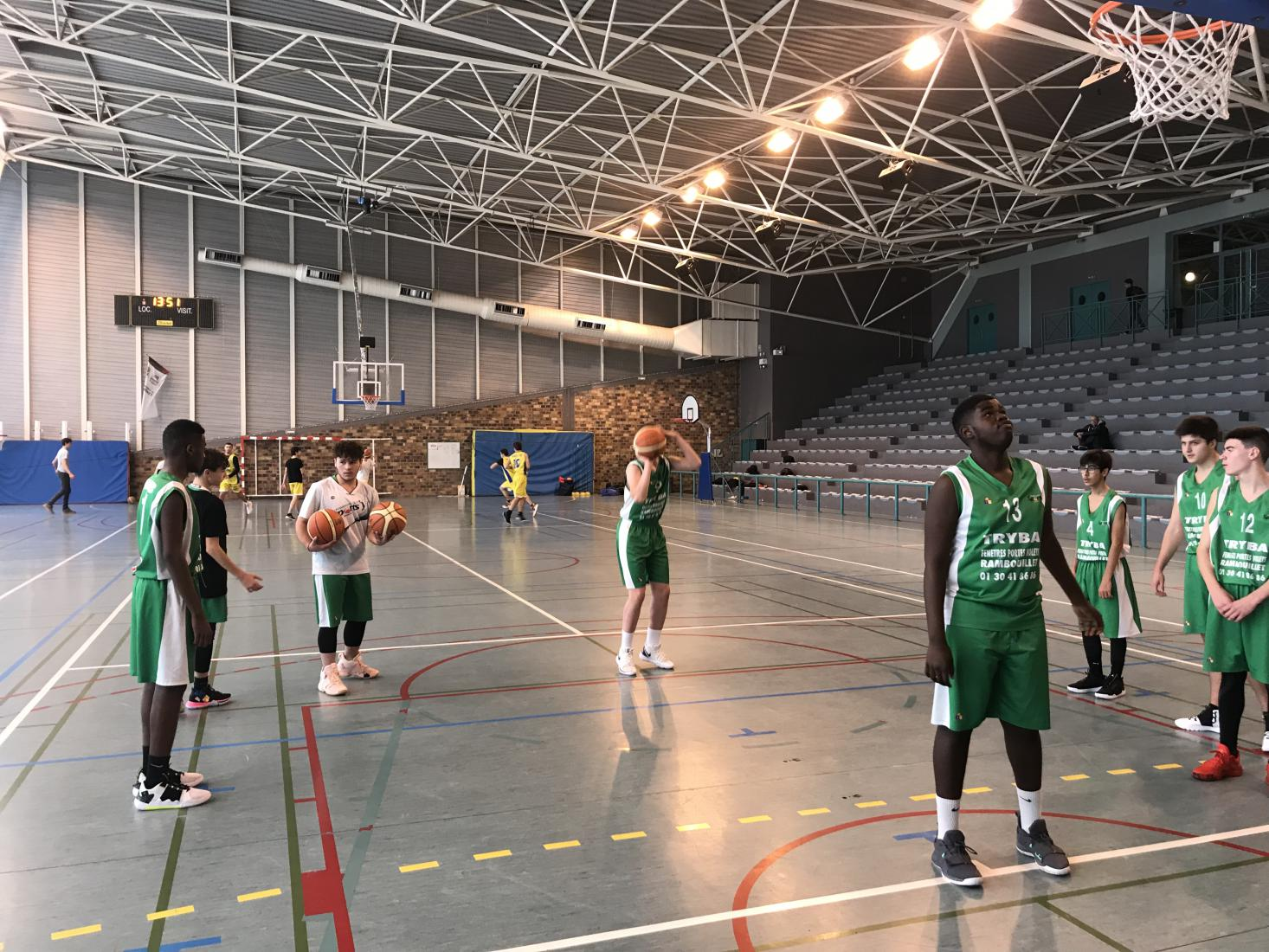 Cadets Marly Le Roi 60 Rambouillet 58
